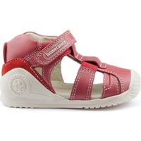 Zapatos Niños Sandalias Biomecanics GIAMO GOMAS LATERALES ROJO