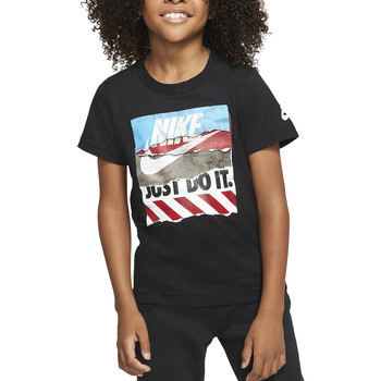 textil Niño Camisetas manga corta Nike - T-shirt nero 86G131-023 NERO