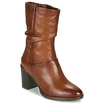 Zapatos Mujer Botas urbanas Dream in Green NORGE Camel