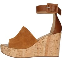 Zapatos Mujer Sandalias Nero Giardini E012411D Con cuña Mujer cuero cuero