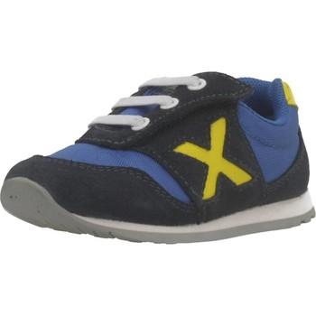 Zapatos Niño Zapatillas bajas Munich BABY DASH Azul