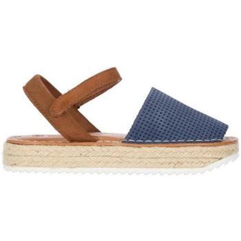 Zapatos Niña Alpargatas Chika10 Kids Leather ASHLEY 01 Marino/Navy
