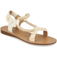 Zapatos Mujer Sandalias Buonarotti 1GG-0248 Blanco
