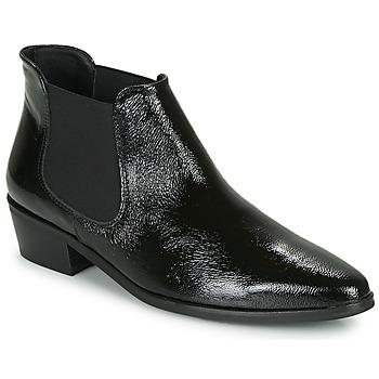 Zapatos Mujer Botas de caña baja Fericelli NANARUM Negro
