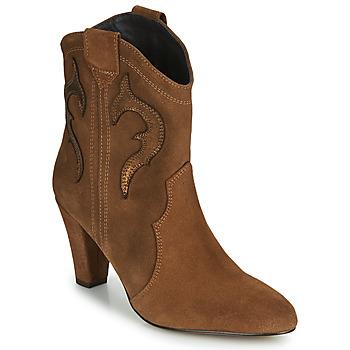 Zapatos Mujer Botines Fericelli NARLOTTE Camel / Oro