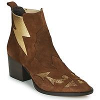 Zapatos Mujer Botines Fericelli NAUSSON Beige / Oro