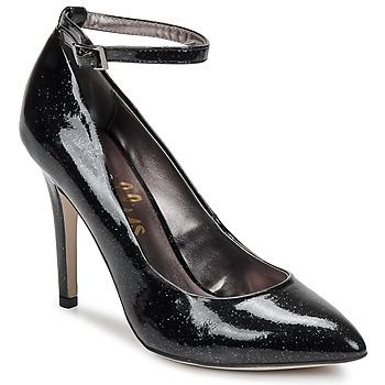 Zapatos Mujer Zapatos de tacón Shellys London STAR Negro / Glitter
