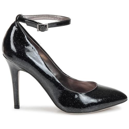 De Tacón Zapatos Star Mujer Shellys London NegroGlitter qMSVUpzG