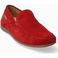 Zapatos Hombre Mocasín Mephisto ALGORAS Rojo