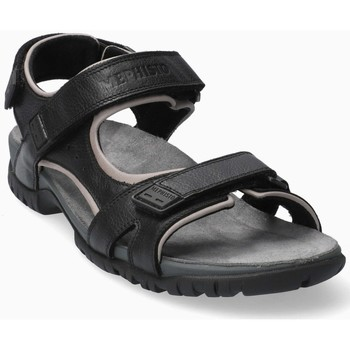 Zapatos Hombre Sandalias Mephisto BRICE Negro