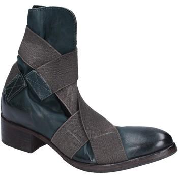 Zapatos Mujer Botines Moma botines cuero verde