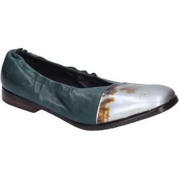 Zapatos Mujer Bailarinas-manoletinas Moma bailarinas cuero verde