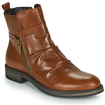 Zapatos Mujer Botas de caña baja Casual Attitude NERMITE Camel