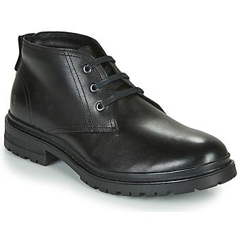 Zapatos Hombre Botas de caña baja Casual Attitude NENDAME Negro