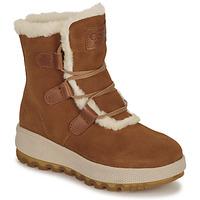 Zapatos Mujer Botas de nieve Casual Attitude NAREIGNE Camel