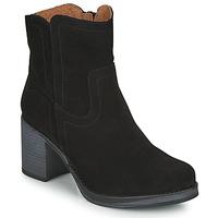Zapatos Mujer Botines Casual Attitude  Negro