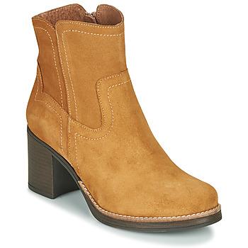 Zapatos Mujer Botines Casual Attitude NIGALE Camel