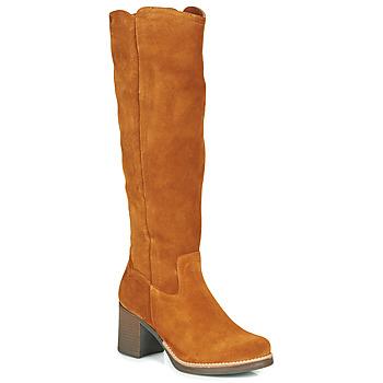 Zapatos Mujer Botas urbanas Casual Attitude HAPI Camel