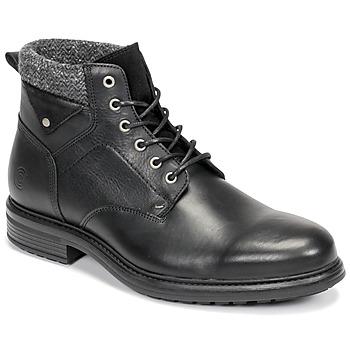 Zapatos Hombre Botas de caña baja Casual Attitude NAPILLON Negro