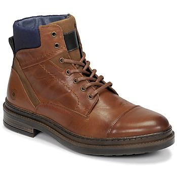 Zapatos Hombre Botas de caña baja Casual Attitude NYSOPE Camel