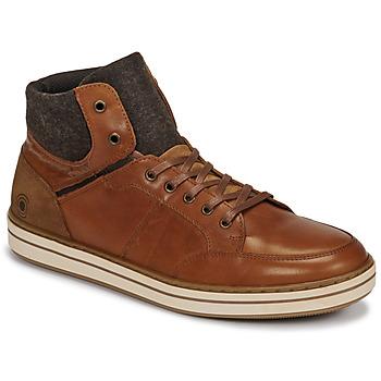 Zapatos Hombre Zapatillas altas Casual Attitude NOURDON Camel