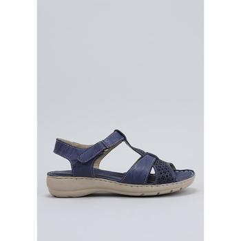 Zapatos Mujer Sandalias Amanda LIRIO Azul