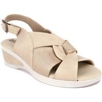 Zapatos Mujer Sandalias Arcopedico HERA PIEL BEIG BEIG