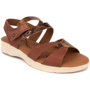 Zapatos Mujer Sandalias Arcopedico VENEZIA PIEL MARRON MARRON