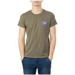 textil Hombre Camisetas manga corta Nasa  Verde