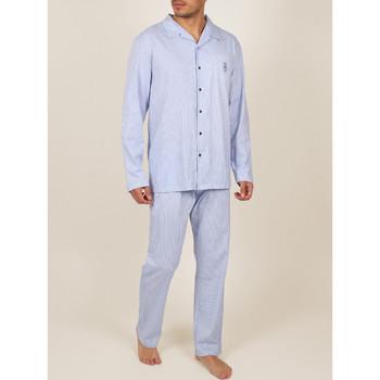 textil Hombre Pijama Admas For Men Ropa interior pantalones de pijama camisa Admas Marinos Azul Marine