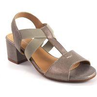 Zapatos Mujer Sandalias Maria Jaen Sandalia señora  500 oro Plata