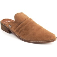 Zapatos Mujer Zuecos (Clogs) Musse & Cloud Zapato señora MUSE & CLOUD achily cuero Marrón