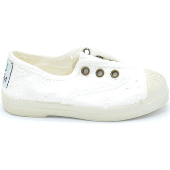 Zapatos Niña Tenis Natural World 474-505 Blanco