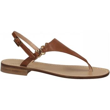 Zapatos Mujer Sandalias Paolo Ferrara CUOIO NATURALE cuoio