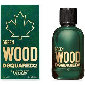Belleza Hombre Agua de Colonia Dsquared Green Wood Pour Homme Edt Vaporizador  100 ml