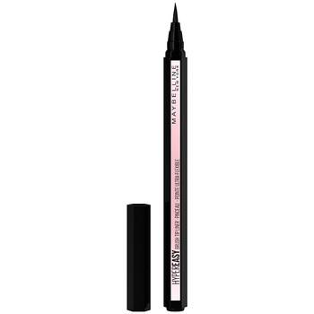 Belleza Mujer Lápiz de ojos Maybelline New York Hyper Easy Brush Tip Liner 800-knockout Black 0,6 g