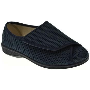 Zapatos Mujer Pantuflas Pinturines 3268B Azul
