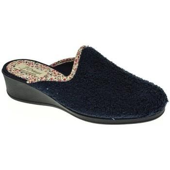 Zapatos Mujer Pantuflas Pinturines 3244 Azul