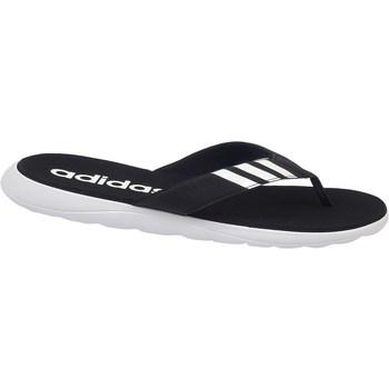 Zapatos Hombre Chanclas adidas Originals Comfort Flip Flop Blanco, Negros
