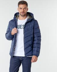 textil Hombre Plumas Guess SUPER LIGHT PUFFA JKT Marino