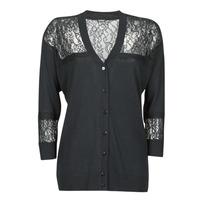 textil Mujer Chaquetas de punto Guess IRENE CARDI SWTR Negro