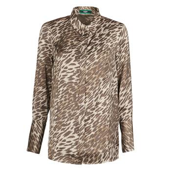 textil Mujer Tops / Blusas Guess VIVIAN Leopardo