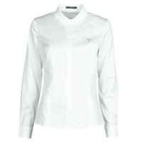 textil Mujer Camisas Guess LS CATE Blanco