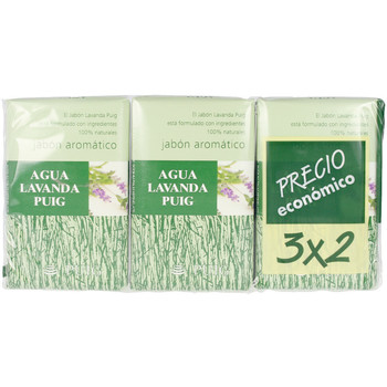 Belleza Productos baño Agua Lavanda Puig Jabon Lote 3 Pz 3 u