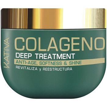 Belleza Mujer Champú Kativa Colágeno Deep Treatment  500 ml