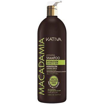 Belleza Mujer Champú Kativa Macadamia Hydrating Shampoo  1000 ml