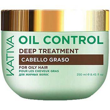 Belleza Mujer Champú Kativa Oil Control Deep Treatment  250 ml