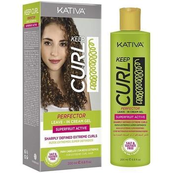 Belleza Mujer Acondicionador Kativa Keep Curl Perfector Leave-in Cream  200 ml