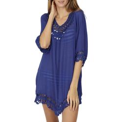 textil Mujer Túnicas Admas Túnica de playa Ibiza Azul