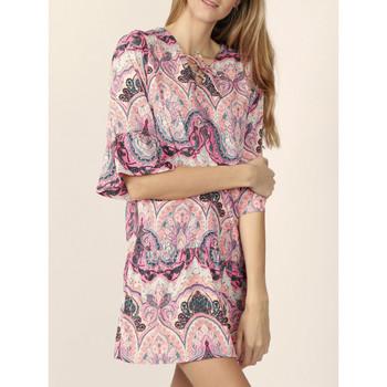 textil Mujer Vestidos cortos Admas Vestido de playa cachemira rosa Rosa Pálido